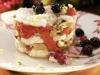 Ensalada de rape y setas con vinagreta de frutos rojos y pomelo