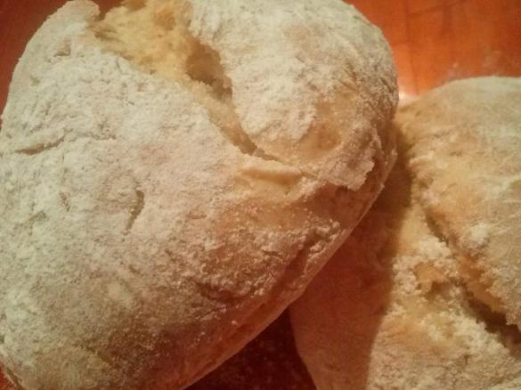 Como hacer pan amasado sin levadura y sin manteca