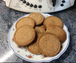 Galletas integral de mantequilla