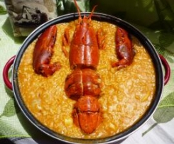 ARROZ MARINERO con BOGAVANTE