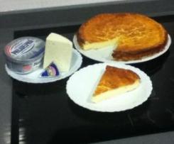 tarta de 3 quesos (Receta de Esther)