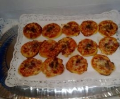 Mini pizzas (piccolinis)
