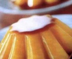 Clón de Flan de huevo (sin azúcar)