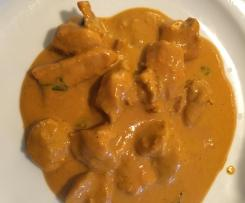 Pollo al curry Indio