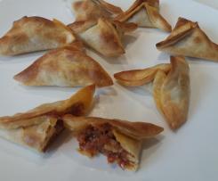 Empanadilla de parmesano y tomate seco