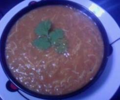 Sopa Harira marroqui