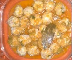 Albóndigas en salsa de pimentón