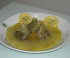 Sopa ligera de Alcachofas