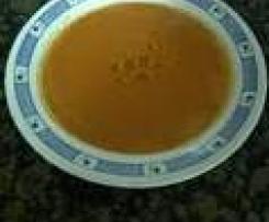 Gazpacho a mi manera (sin ajo ni pepino)