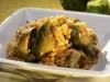 Alcachofas, pollo y arroz