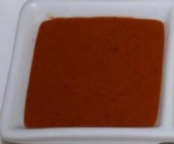 Mojo rojo con pimientas de La Palma