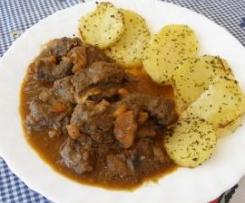Clon de Ternera en salsa con patatas al varoma