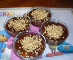 Postre de chocolate rapido.