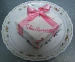 Tarta Glaseada Felicitaciones 2012