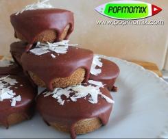 Pastelitos de Chocolate Rellenos de Mascarpone