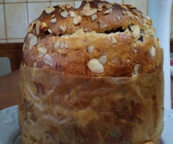 Panettone con nueces y chocolate