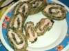 Ruedas verdes con queso de nata