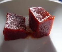 Dulce de membrillo con canela