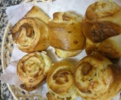 Bollitos de queso de cabra y philadelphia