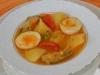 Guiso de patatas y huevos