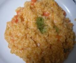 Arroz con verduras(apto para celiacos)