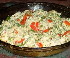 Salteado de pollo con pimientos