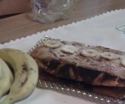 Plum Cake de Platano y  NUEZ (Pag 182 libro reposteria)