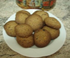 Cookies de chocolate y nuecez