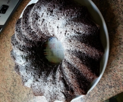 Chocolate potato bundt cake (bizcocho de patata y chocolate)