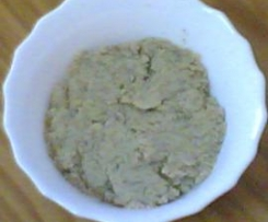 Paté vegetal de okara y cebolla