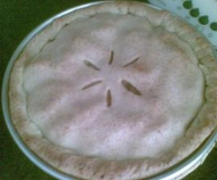 APPLE PIE (pastel de manzana USA)