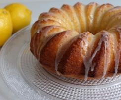 Bizcocho integral de limón