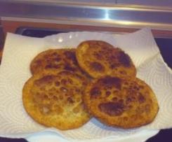 empanadillas de carne con salsa barbacoa