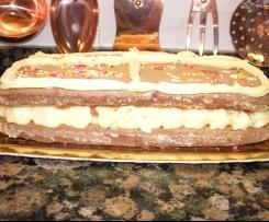tarta de colacao y crema de la Amparito