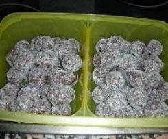 Trufas de Chocolate, mascarpone y coco