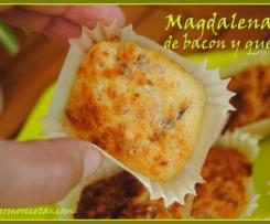 magdalenas beicon y queso