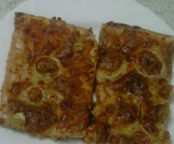 Pizza con relleno de aprovechamiento