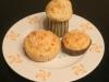 Magdalenas de queso de cabra y cebolla crujiente