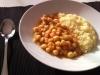 Garbanzos y arroz al curry