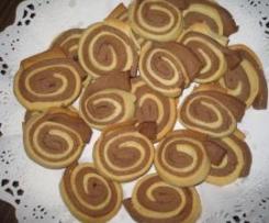 Pastas de té espirales