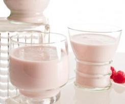 Yogur líquido de frambuesa