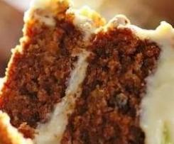 Carrot Cake con agave