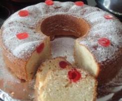 PASTEL DE CEREZAS TIPO PLUM CAKE