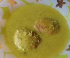 Sopa de panecillos