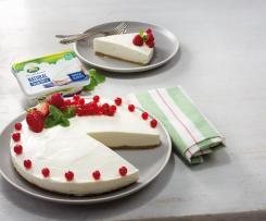 Cheesecake ligero con frutos rojos con Arla ®.