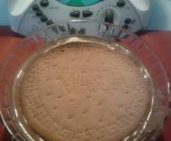Trata de galletas Maria con crema de cacao