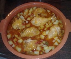 Pollo al chilindron