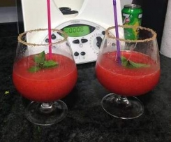 Mojito de Fresa sin alcohol (para 2 personas)