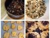 Galleta energéticas de avena, frutos secos y chocolate