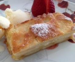 Tarta de manzana y Pera